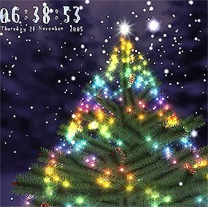 3d Christmas Tree ScreenSaver 1.75 Free download